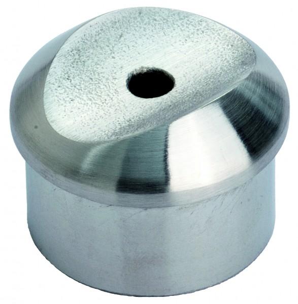 VA Handlaufhalter (flach) für Rohr 42,4 x 2,0