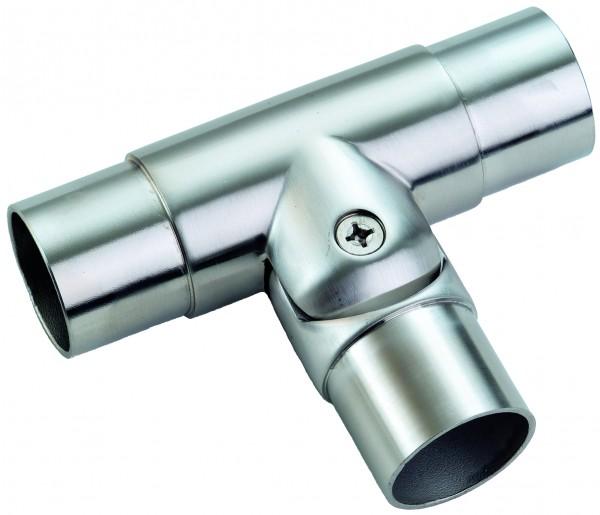 VA-Steck-T-Verbinder (mit flexiblem Abgang) 42,4 x 2,0