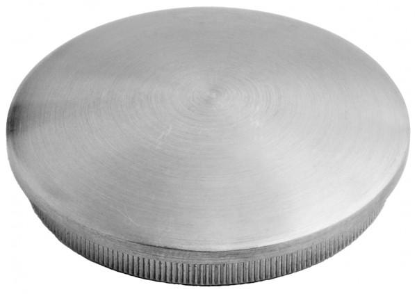 VA Rändelkappe (leicht gewölbt) 33,7 x 2,0