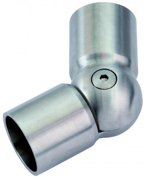 VA flexibler Kugelverbinder für Holzhandlauf Ø45mm