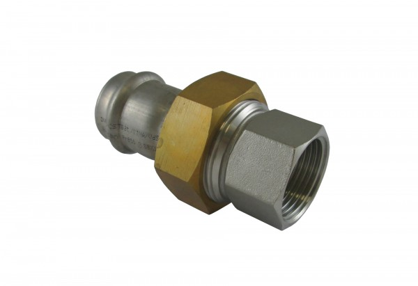 "9330G 28x3/4"" Verschraubung i/i MS-Mutter NIROSAN PRESSFITTINGS"