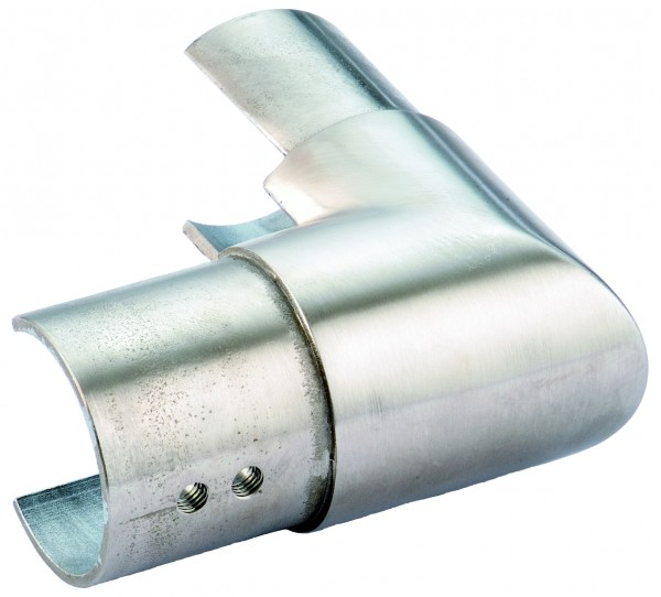 VA Eckbogen für Nutrohr vertikal 42,4mm