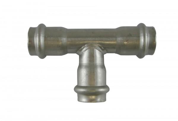 9130 35mm T-Stück NIROSAN PRESSFITTINGS
