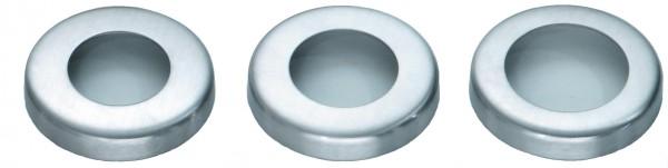 VA Rosette (rund) für Rohr 42,4, Höhe 25mm