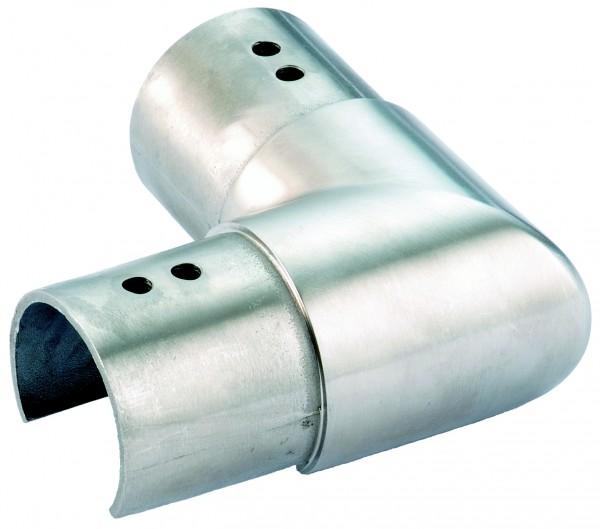 VA Eckbogen für Nutrohr horizontal 42,4mm