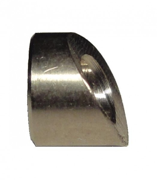 Winkelstück 30° für Drahtseil-Terminal für Rohr 42,4mm; Bohrung 6,5mm AISI 303 #EB061