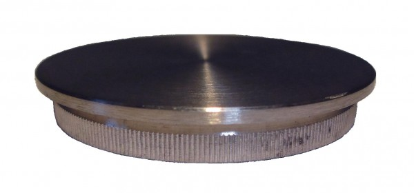 VA Rändelkappe (flach) 42,4 x 2,0