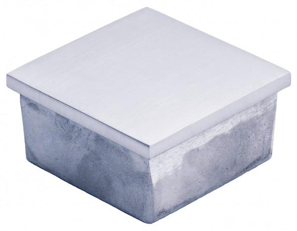 VA Einsteckkappe für Vierkantrohr 40x40x2mm