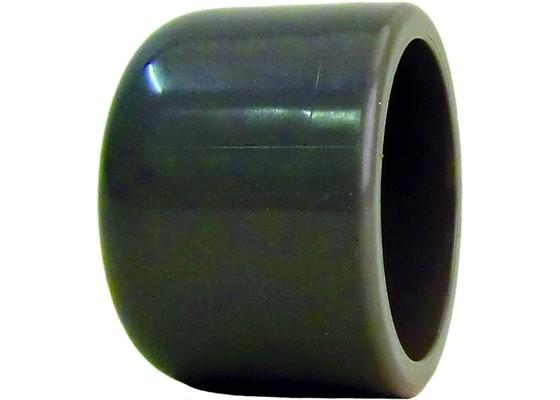 PVC-U Kappe d20 PN16 Klebefitting, hart