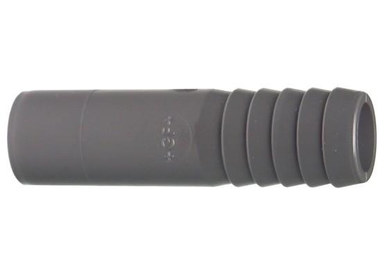 Druckschlauchtülle d12 PN16 Klebefitting aus PVC-U, hart