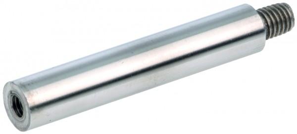 VA Verbindungsstift 12x75mm geschliffen, M8 AGx M6 IG