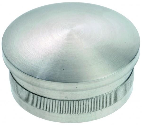 VA Hohlkappe mit Rändel (leicht gewölbt) 33,7 x 2,0
