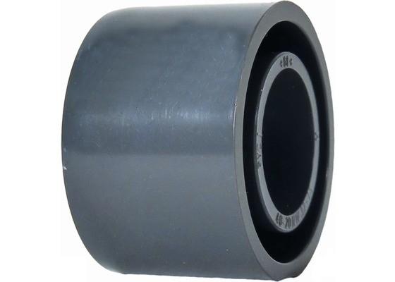 Reduktion kurz d63x50 PN16 Klebefitting aus PVC-U, hart
